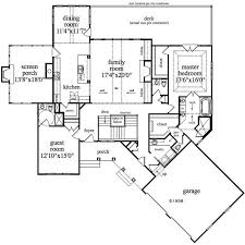 floor plans for a house single level house plans