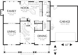 simple colonial house plans house plan beds baths floor house plans 45516