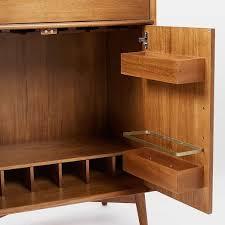 west elm bar cabinet inspiring large bar cabinet mid century bar cabinet large west elm