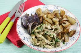 cuisiner des topinambours a la poele topinambour poêlé et pleurotes à la crème persillée quitoque