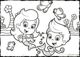 bubble guppies deema coloring pages coloring