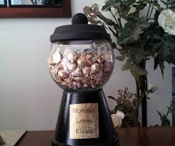 terra cotta pots gumball machine candy jar 3 steps with