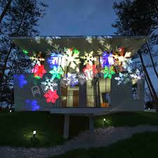 ledhristmas light projector merry white lights