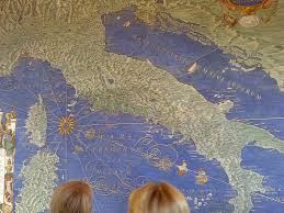Italy On Map A 600 Year Old Wall Map Of Italy Accurate In Every Detail