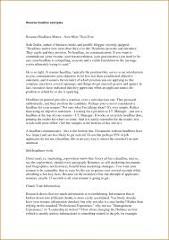 Best Resume Hobbies by What Do You Mean By Resume Headline Resume For Your Job Application