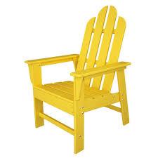 Long Island Patio by Amazon Com Polywood Ecd16le Long Island Dining Chair Lemon