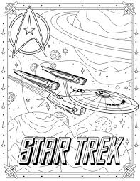 star trek coloring pages star trek spock coloring free