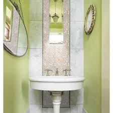 Tiling Bathroom Wall by Mother Of Pearl Tiles Penny Round Bathroom Wall Mirror Tile