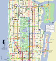 New York Bus Map by Mta Manhattan Bus Map My Blog