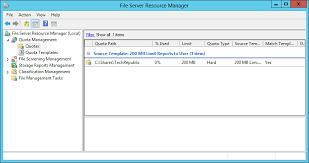 Vendor Contract Template Create A How To Create A Quota Template In Windows Server 2012 Techrepublic