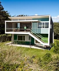 1950 S House by Waikanae House Is A Modern Fibro Shack That Captures The Views