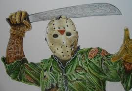 draw halloween characters jason voorhees friday the 13th youtube