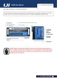 ui24rmixer 24 channel digital mixer recorder users manual user