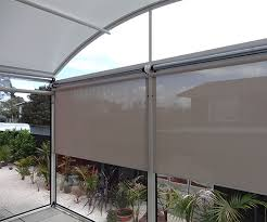 Outdoor Patio Pull Down Shades Outdoor Roller Shades