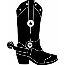 cowboy boots clipart black and white free 2 cliparting
