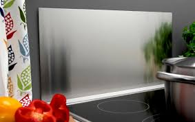 spritzschutz küche spritzschutz herd 40 x 80 cm aus edelstahl wandverkleidung