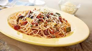 spicy garlic asiago angel hair pasta eat wisconsin cheese