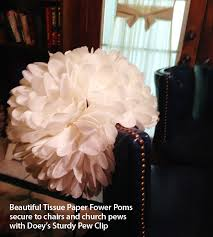 Pew Clips Cathyswraps Ideas For Pretty Holiday Centerpieces For Parties