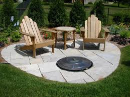 Firepit In Backyard Backyard Pit Designs Dzuls Interiors