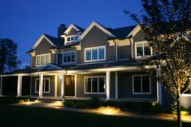Design Landscape Lighting - front facades outdoor lighting perspectives of northern new jersey