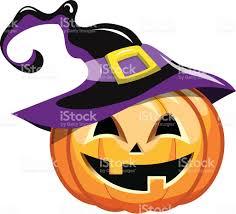 halloween clipart witch cartoon halloween pumpkin witch hat stock vector art 614530472
