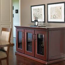 Wine Cabinet With Cooler by Wine Credenzas U0026 Consoles Le Cache U0026 Vinotheque Credenzas