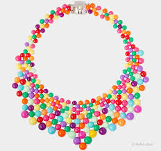 multi color necklace images Audrey multicolor necklace en themag jpg