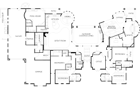 Pool House With Bathroom Parade Of Homes Floor Plan Includes A