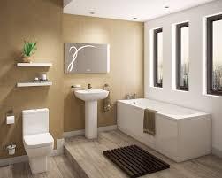 bathroom white porcelain flooring marble framed bathtub white