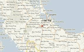 map of hat yai hat yai photos pictures images of hat yai hat yai traveliu
