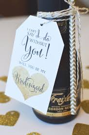 Will You Be My Maid Of Honor Ideas Easy Will You Be My Bridesmaid Idea Free Printable