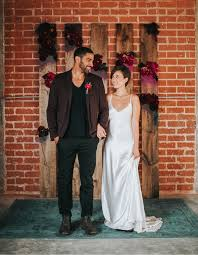 downtown la cocktail party wedding inspiration downtown