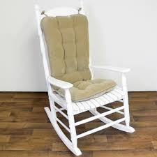 Rocking Chair Cushion Sets Interesting Modern Concrete Countertops Design Ideas Feature White