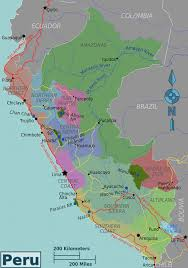 Peru On Map Peru Political Map U2022 Mapsof Net
