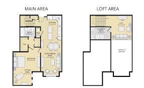 floor plans with loft apartment loft apartment plans