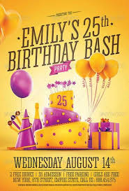 ffflyer download birthday flyer templates for photoshop on