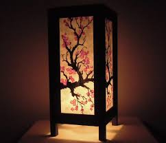 lamp design japanese style lighting ceiling pink lamp shade