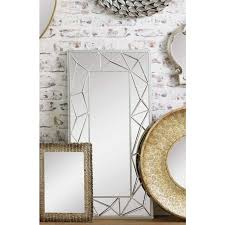 segmented gold or silver retro wall mirror retro mirrors
