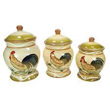 kitchen canister set ceramic d lusso designs ceramic fruit 3 kitchen canister set
