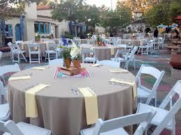 linen rentals san diego center wedding in balboa park khaki linens