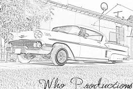 coloring pages of lowrider cars lowrider coloring page free download