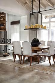 interesting modern rustic dining room decor chandelier astonishing modern rustic dining room decor