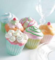 glitter cupcake decorations set of 4 3007031 new raz free