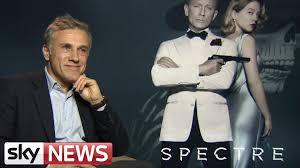 spectre star christoph waltz on new james bond film youtube