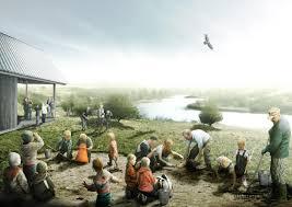 sla win design competition to transform danish national park into
