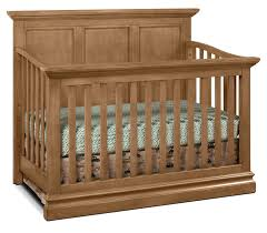 Crib That Converts To Twin Bed by Cameron Panel Convertible Crib Cashew Leon U0027s