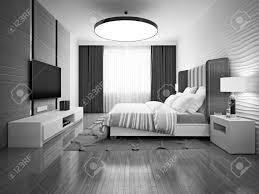 art nouveau bedroom monochrome art deco bedroom 3d render stock photo picture and