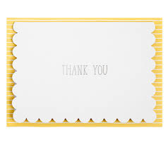 kikki quote cards thank you cards 10pk hello world