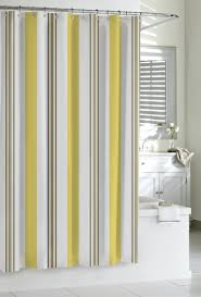 Shower Curtains Black Black And Yellow Striped Shower Curtain Shower Curtains Design