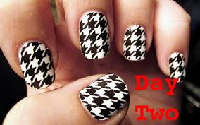 goldiestarling u0027s art of beauty blog for houndstooth nails